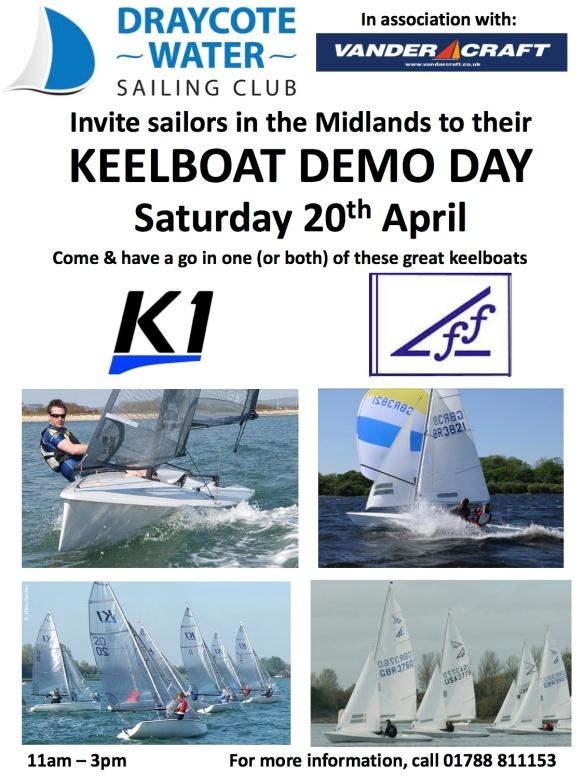 draycote Keel boat demo flyer copy