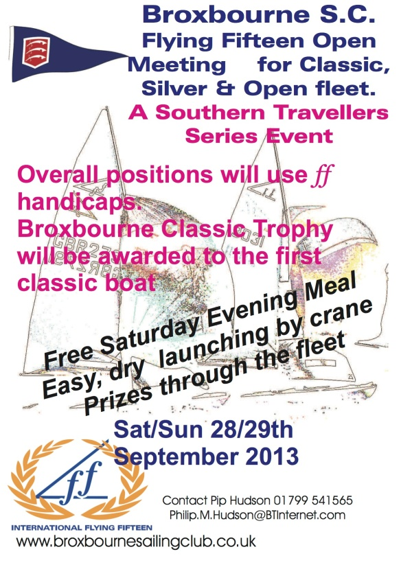 2013 Broxbourne FF open poster