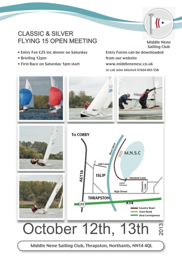 2013 Middle Nene FF open poster