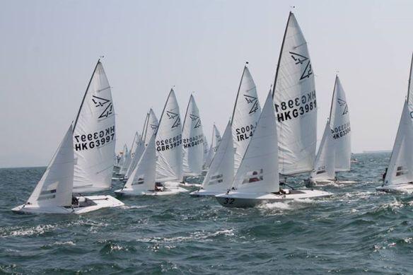 HK Nats start race 2