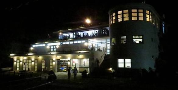 RHKYC Clubhouse at Night