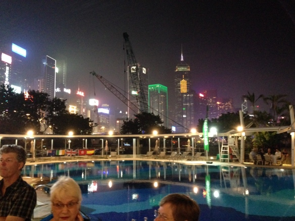 HK Poolside recep and skyline