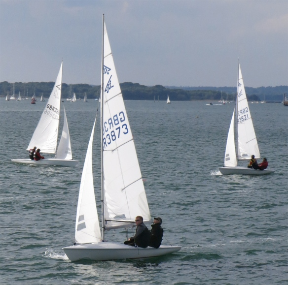 Flying Fifteens at Poole