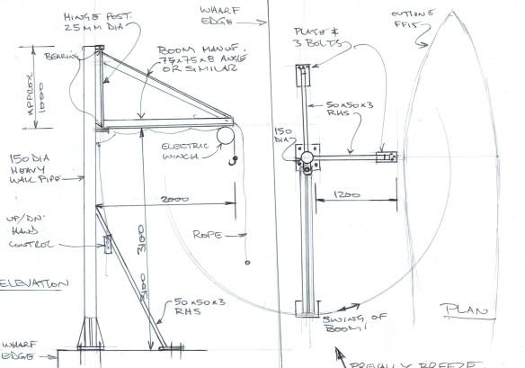 RFBYC crane sketch