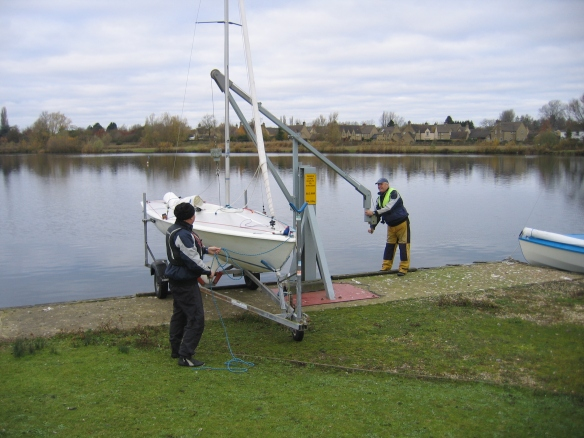 South Cerney attaching Boat 3