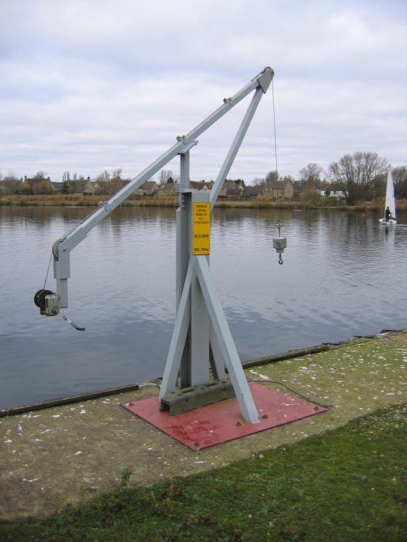 South Cerney Crane 1