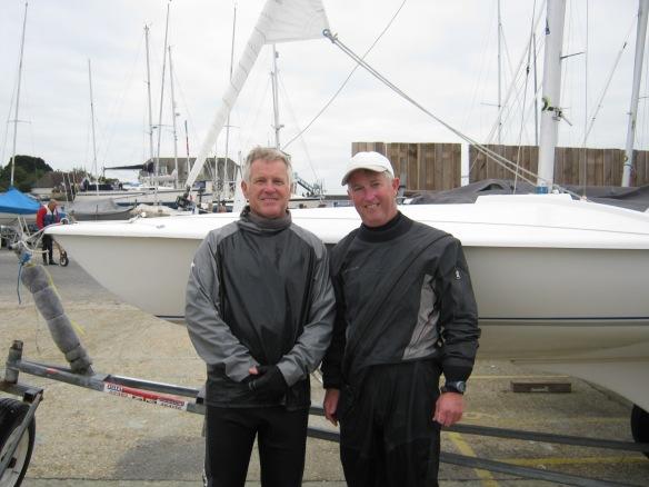 Bob and Huw winners Autumn series race 3