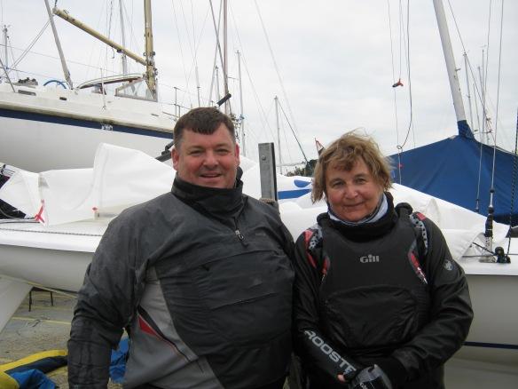 Chris and Nadia winner mini series race 2