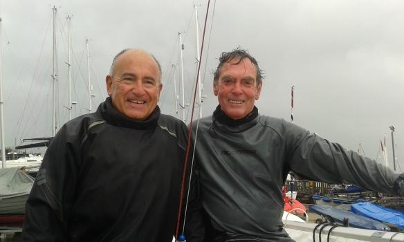 Crispin Read-Wilson and Steve Brown winners of race 4