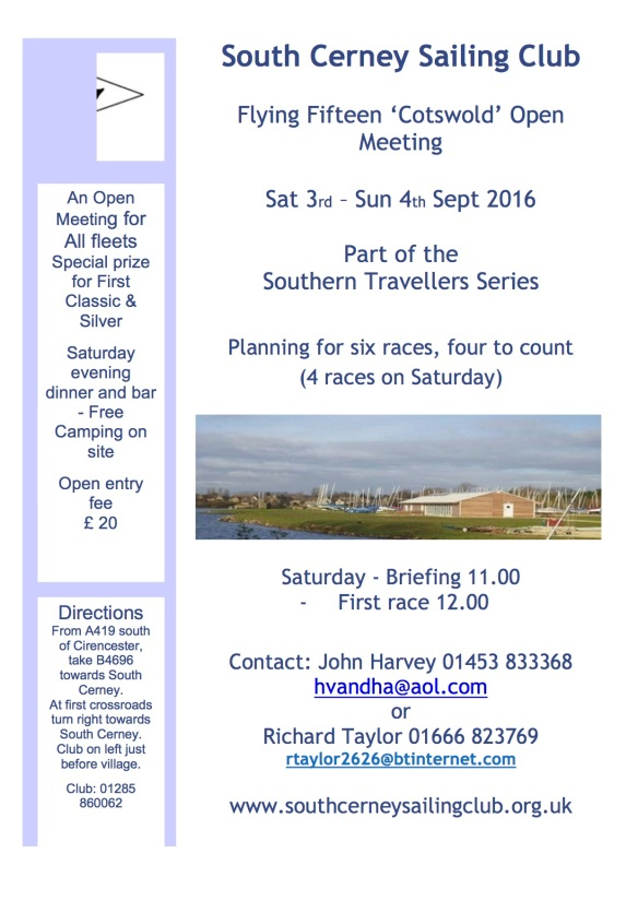 South Cerney SC - F15 Open Poster 2016 v2